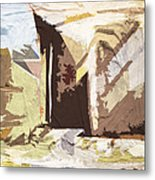 Stairway To Heaven Abstract Metal Print