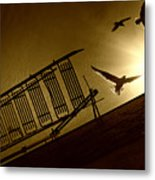 Stairway To Heaven Metal Print by Photo by marianna armata