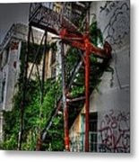 Stairway To Insanity Metal Print by Heather  Boyd