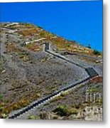 Stairwell To Windy Point  Metal Print