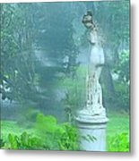 Standing In The Rain Metal Print