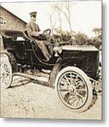 Stanley Steamer Car, 1906 Metal Print