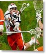 Stanwick Lacrosse 2 Metal Print