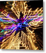 Star Abstract Metal Print by Garry Gay