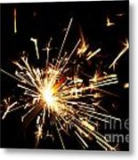Star In Hand Metal Print