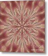 Star Magnolia Medallion 3 Metal Print