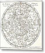 Star Map, 1805 Metal Print by Detlev Van Ravenswaay