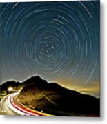 Star Trails Metal Print by Higrace Photo