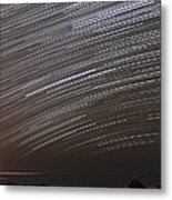 Star Trails Metal Print by Laurent Laveder