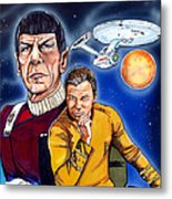Star Trek Metal Print