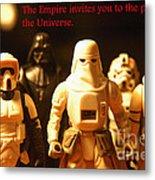Star Wars Gang 2 Metal Print by Micah May