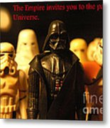 Star Wars Gang 5 Metal Print