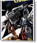 Starcrash, L-r Caroline Munro, Marjoe Metal Print by Everett