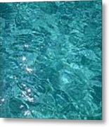 Starry Surface Metal Print
