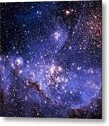 Stars And The Milky Way Metal Print