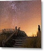 Stars In A Night Sky Metal Print