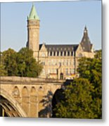 State Savings Bank, Luxembourg City, Luxembourg Metal Print
