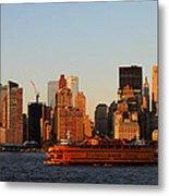 Staten Island Ferry 3 Metal Print