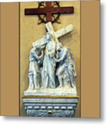 Station Of The Cross 02 Metal Print