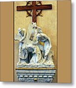 Station Of The Cross 03 Metal Print