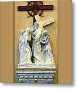 Station Of The Cross 04 Metal Print