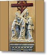 Station Of The Cross 05 Metal Print