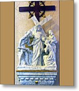 Station Of The Cross 08 Metal Print