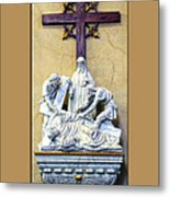 Station Of The Cross 09 Metal Print