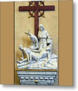 Station Of The Cross 11 Metal Print