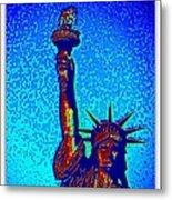 Statue Of Liberty-4 Metal Print