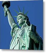 Statue Of Liberty Metal Print by Brian Jannsen