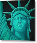 Statue Of Liberty ... Metal Print