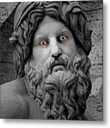 Statue With Eyes Metal Print