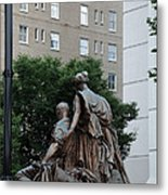 Statues In Nashville Metal Print