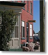 Stavely Tavern Metal Print