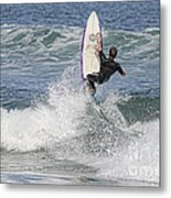 Staying On The Board Metal Print