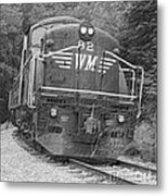 Steam Engine Eighty Two Metal Print
