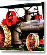 Steam Engine Tractor  Metal Print
