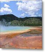 Steam Lake Metal Print