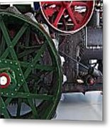 Steam Power Metal Print