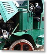 Steam Powered Truck 7d15099 Metal Print by Wingsdomain Art and Photography