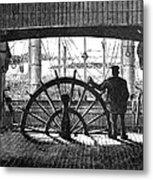 Steamboat: Great Republic Metal Print