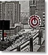 Steamboat Streets Metal Print