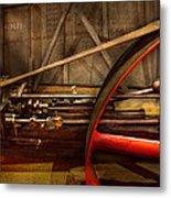 Steampunk - Machine - The Wheel Works Metal Print