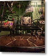 Steampunk - Naval - This Is Where I Do My Job Metal Print