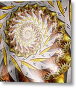Steampunk - Spiral - Time Iris Metal Print