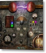 Steampunk - The Modulator Metal Print