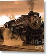 Steamtown Engine 2317 Metal Print