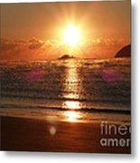 Steamy Sunrise Metal Print