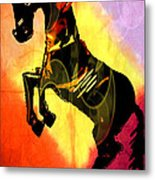 Steed 3 Metal Print